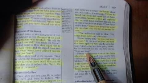 Nobleman's son healed - John 4:46-54 - Jarrin Jackson