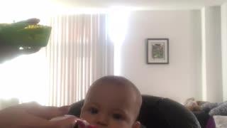 Baby Loves Sweet Potatoes