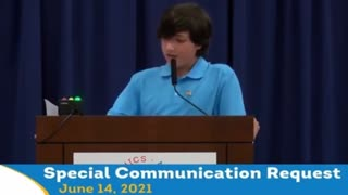 Student Speaks Out Against Critical Race Theory To School Board