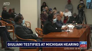 Election Witnesses in Michigan Testimony Verifies Voter Fraud and Corruption
