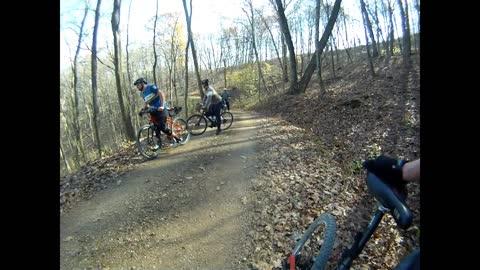 Scioto Trail State Park Ohio Gravel Grinder - November 2014