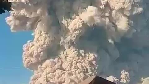 Planet X makes volcanoes erupt