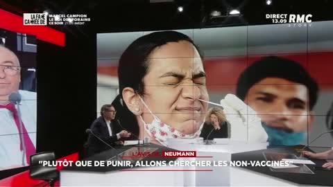 """""""Faire des non vaccinés des parias aller les chercher avec des menottes"""""""
