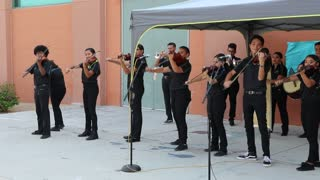 "Mariachis at LVA playing ""La Negra"" on September 6, 2017."