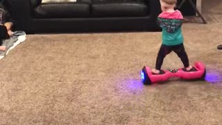 16-Month-Old Hoverboard Baby