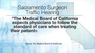 Doctor makes court appearance while performing surgery