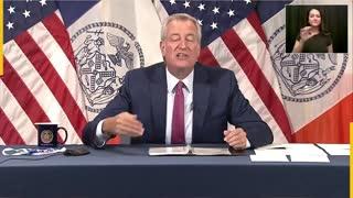 Mayor Bill de Blasio announced vaccine passports requirement