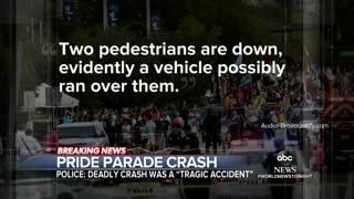 DEADLY CRASH AT PRIDE PARADE