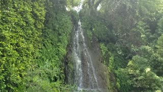 Garden of eve waterfall look like