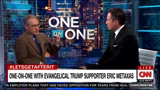 Chris Cuomo tussles with Trump-supporting Christian