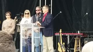 General Michael Flynn Speaks at Jericho March 12-12-2020