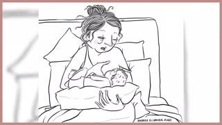 Being a Mom - late night feedings