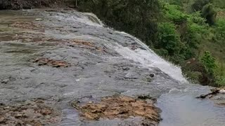 Another video of natural waterfall in Vietnam.
