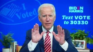 Biden confesses to Voter Fraud Organization