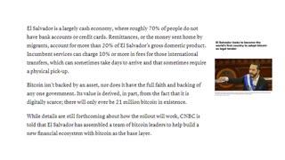 Bitcoin Breaking News - El Salvador Votes to Adopt Bitcoin! 🔥🔥🔥