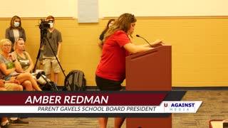 Parent Gavels School Board President - Grand Ledge - Amber Redman