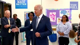President Biden calls out Mitch McConnell