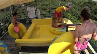 Fun Time Discovering Water Slide at Aqua-land Park