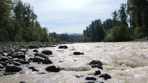 Soothing Mountain River
