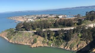 View from the San Francisco Bay Bridge