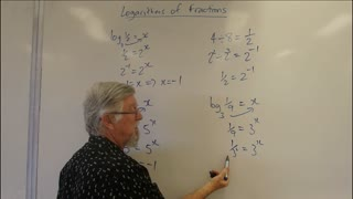 Math Logs 05 Fractions Mostly for Years/Grade 10, 11 and 12 Academic Courses Logarithms