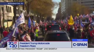 Trump Visits The Stop The Steal Rally | The Washington Pundit