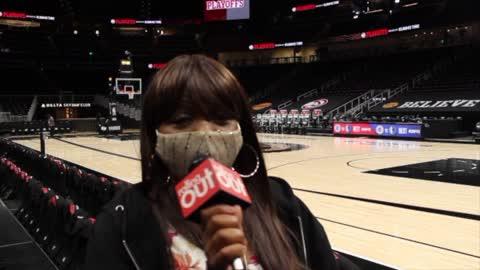 Atlanta Hawks in the Playoffs Game 4 VS NY Knicks
