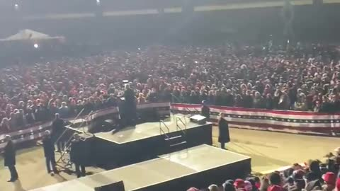 FOR REAL MASSIVE crowd at President Trump's Peaceful Protest in Omaha, Nebraska