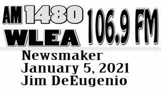 Wlea Newsmaker, January 5, 2021, Jim DiEugenio