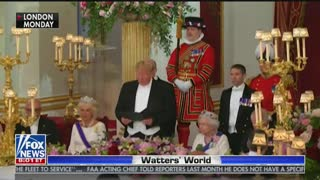 Jesse Watters compares Melania Trump and Michelle Obama's UK visits