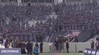 President Trump Army-Navy game Westpoint