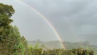 torrencial lluvia en Oiba