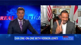 Real America - Dan W/ Vernon Jones (July 6, 2021)