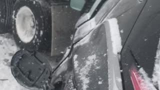 Massive Highway Mayhem in Michigan