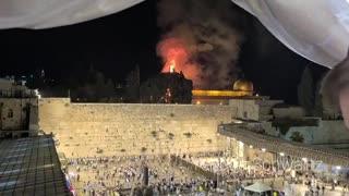 Temple Mount Fire