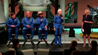 'I want to go again, fast' -Wally Funk after space flight