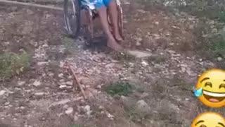 making the wheelchair