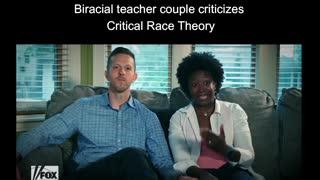 Biracial teacher couples criticizes Critical Race Theory