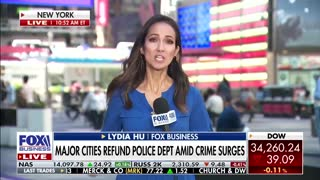 Major cities 'refund the police' amid crime surges