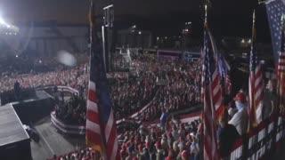 Trump Rally Vs Biden Rally