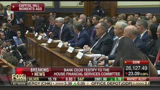 Maxine Waters questions bank executives about student loan crisis