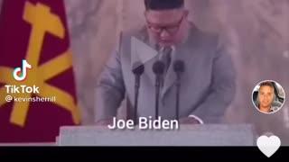 Joe biden shows weakness on world stage