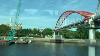 Tokyo Monorail in Japan