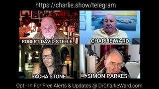 3rd Feb 2021: Robert David Steele with Sacha Stone, Simon Parkes & Charlie Ward