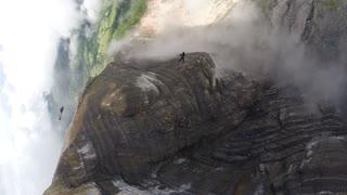 Beautiful Mountaintop Skydive