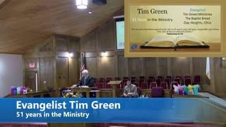 Evangelist Tim Green // Old Timer's Conference // 3/29/2021