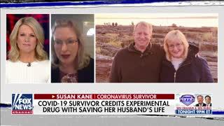 Coronavirus survivor says experimental drug saved husband's life