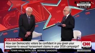 Bernie Sanders on campaign harassment allegations