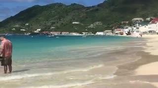 St Martin F.W.I. beachtime