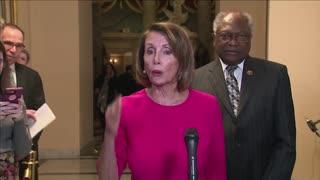 Pelosi calls Trump's wall an 'immorality'